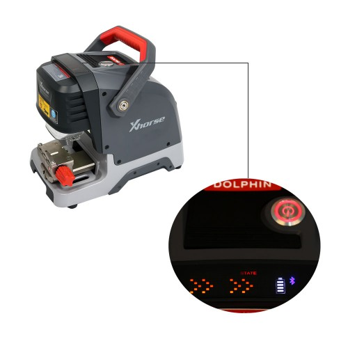 Xhorse Condor Dolphin XP005 Key Cutting Machine Plus VVDI MB Tool Get 1 Free Token Everyday