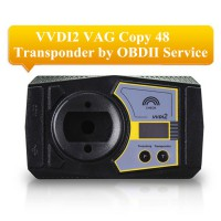 Xhorse VVDI2 VAG Copy 48 Transponder by OBDII Function Authorization Service