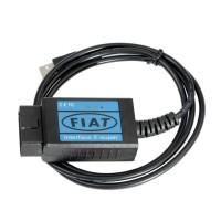 Fiat Scanner OBD2 EOBD USB Diagnostic Cable