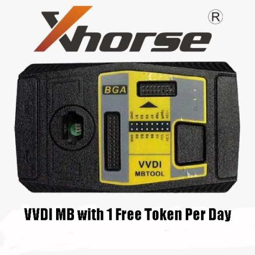 Original Xhorse V5.0.3 VVDI MB BGA Tool Only For Customer Bought Xhorse Condor Cutter Machine Get 1 free token everyday