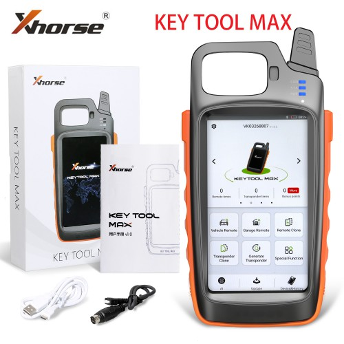 [UK/EU Ship] Xhorse VVDI Key Tool Max with VVDI MINI OBD Tool Bluetooth send 1pc Free VVDI Renew Cable
