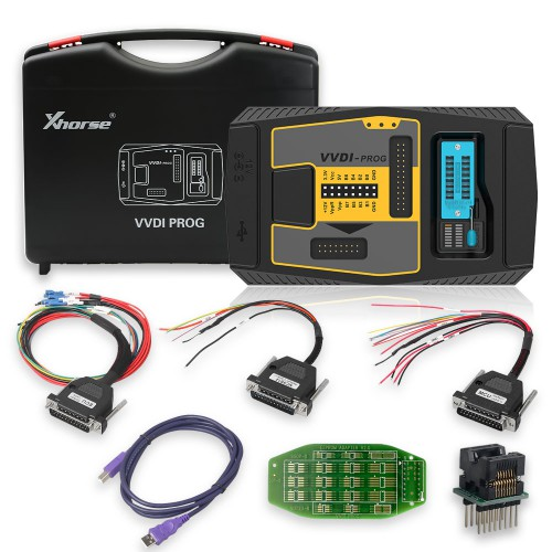 [UK Ship No Tax]Xhorse VVDI Prog With Bosch ECU Adapter Read BMW ECU N20/N55/B38