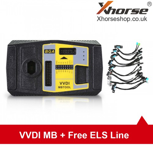 [UK Ship No Tax]Original XhorseVVDI MB BGA Tool Including BGA Calculator Function Send 1 Free EIS/ELV Test Line