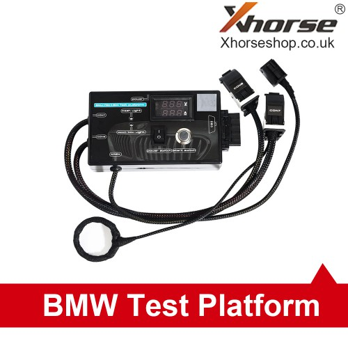[UK Ship No Tax]New Type BMW FEM/BDC BMW F20 F30 F35 X5 X6 I3 Test Platform with Black Case