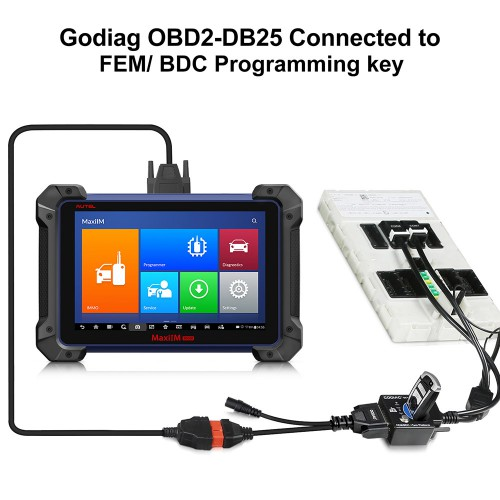 [UK/EU Ship] GODIAG BMW FEM/BDC Test Platform Work with Xhorse VVDI2/Key Tool Plus/VVDI BIM Pro/ Autel IM608/CGDI BMW etc