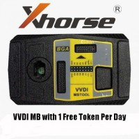 [UK Ship No Tax]Original Xhorse V5.0.5 VVDI MB BGA Tool Only For Customer Bought Xhorse Condor Cutter Machine Get 1 free token everyday
