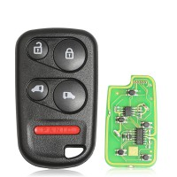 [No Tax] Xhorse XKHO04EN Wire Remote key Honda Separate 4 Buttons with Sliding Door Button English 5pcs/lot