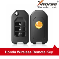 [UK/EU Ship]XHORSE XNHO00EN Wireless Universal Remote Key Fob 3 Buttons for Honda VVDI Key Tool English Version 5pcs/lot