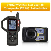 Xhorse VVDI2/VVDI Key Tool Copy 48 (96 bit) Function Authorization Service Get free MQB Key Learn