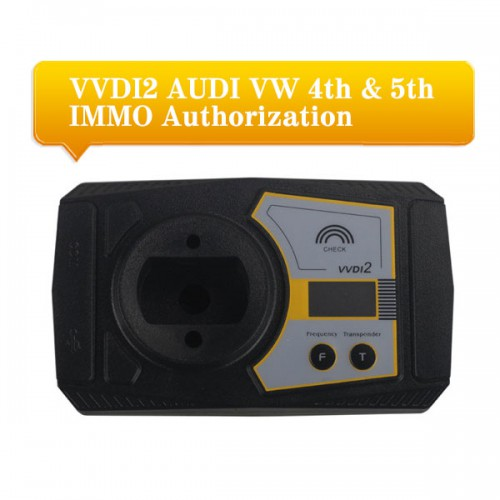 XHORSE VVDI2 Vag 4th and 5th Immo Authorization